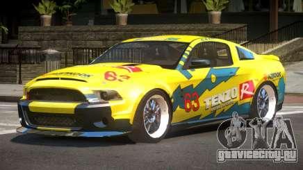 Shelby GT500 SR PJ3 для GTA 4