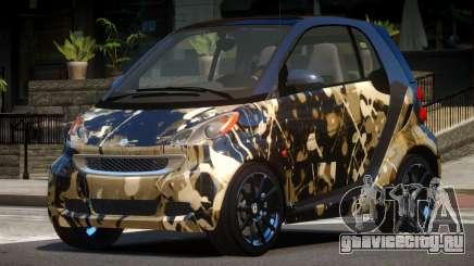 Smart ForTwo RS PJ5 для GTA 4