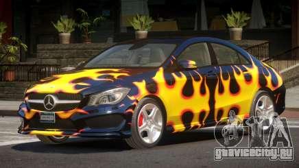 Mercedes Benz CLA V1.0 PJ3 для GTA 4