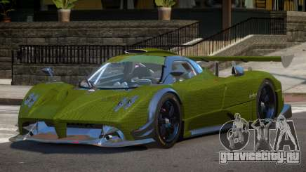 Pagani Zonda R-Tuning PJ4 для GTA 4