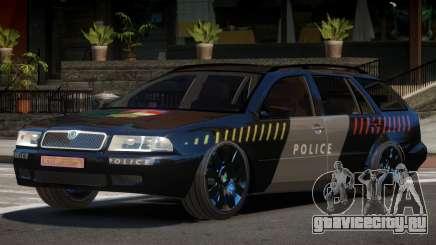 Skoda Octavia LS Police для GTA 4
