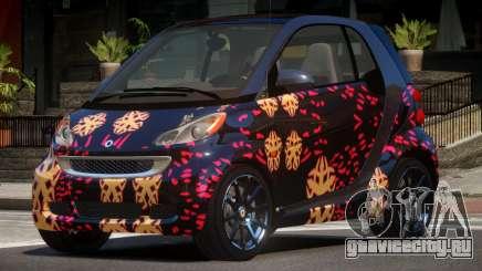 Smart ForTwo RS PJ4 для GTA 4