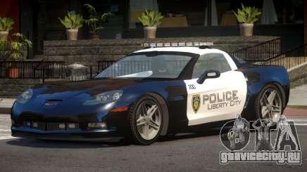 Chevrolet Corvette LS Police для GTA 4