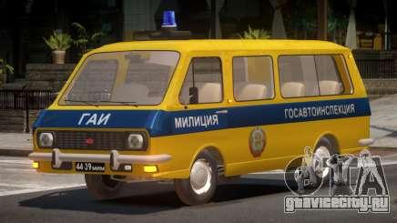 RAF 2203 Police для GTA 4
