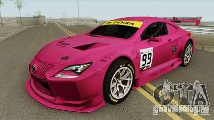Lexus RC-F GT3 (RHA) для GTA San Andreas