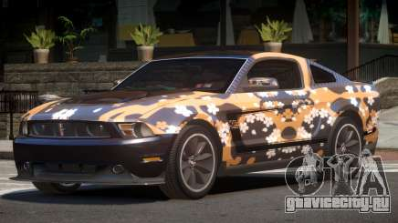 Ford Mustang 302 V1.1 PJ2 для GTA 4
