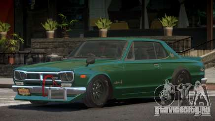 Nissan Skyline Old для GTA 4
