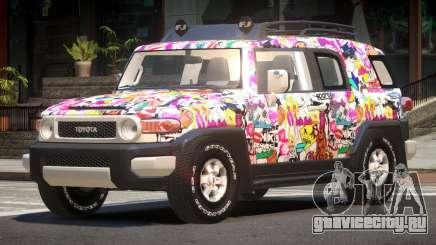 Toyota FJ Cruiser ST PJ6 для GTA 4