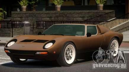 Lamborghini Miura ST для GTA 4