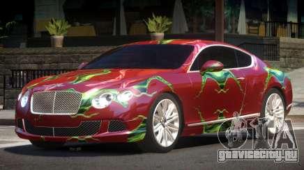2013 Bentley Continental GT Speed PJ4 для GTA 4
