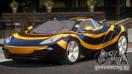 McLaren MP4-12C GT PJ5 для GTA 4