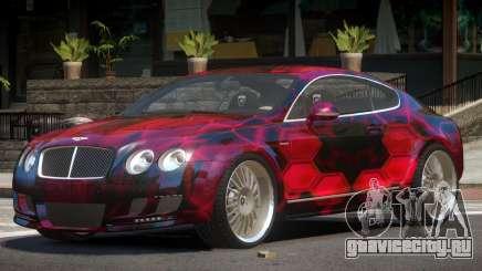 Bentley Continental GT Elite PJ3 для GTA 4