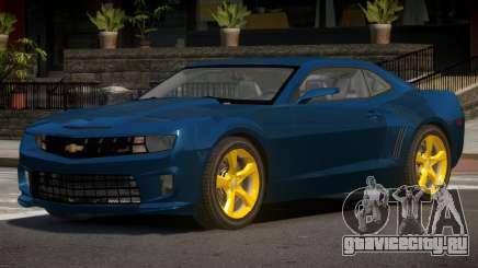 Chevrolet Camaro MS для GTA 4