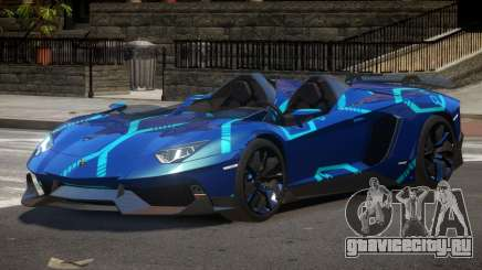 Lamborghini Aventador Spider SR PJ2 для GTA 4