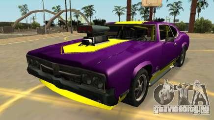 Горячий Сейбр Турбо (Значки И Массовка) для GTA San Andreas
