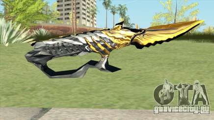 Knife (Born Beast Noble Gold) для GTA San Andreas