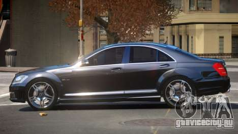 Mercedes Benz S63 A-Style для GTA 4