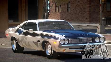 1972 Dodge Challenger RT PJ1 для GTA 4