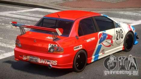 Mitsubishi Lancer S-Tuned PJ2 для GTA 4