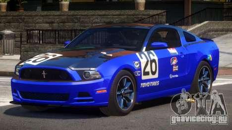 Ford Mustang B-Style PJ3 для GTA 4