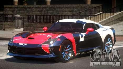 Dodge Viper SRT D-Tuned PJ3 для GTA 4
