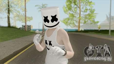 Marshmello V4 (GTA Online) для GTA San Andreas