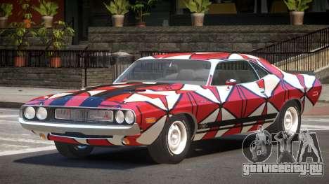 Dodge Challenger RT H-Style PJ2 для GTA 4