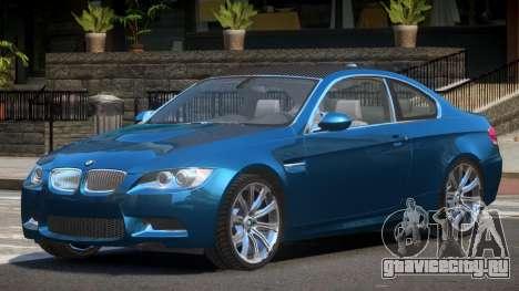 BMW M3 E92 MR для GTA 4