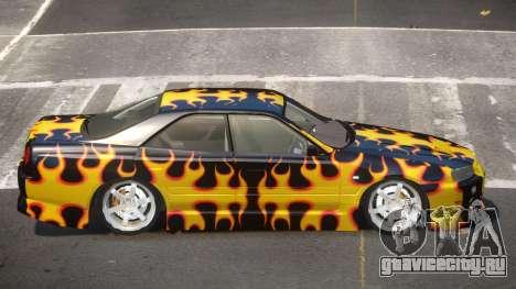 Nissan Skyline R34 SRS PJ3 для GTA 4