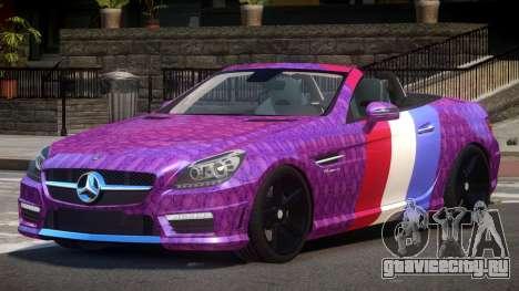 Mercedes Benz SLK DDS PJ2 для GTA 4