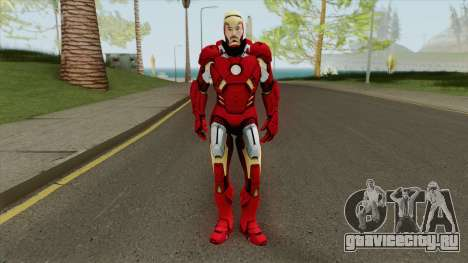 Iron Man Mark 7 (Unmasked) для GTA San Andreas