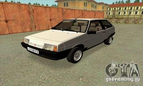 VAZ 2108 Czechoslovakia export ver.0.3 для GTA San Andreas