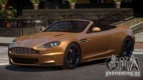 Aston Martin DBS Volante V1.2 для GTA 4