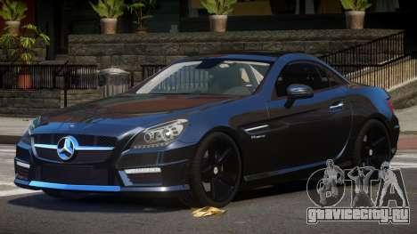 Mercedes Benz SLK Qz для GTA 4
