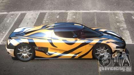 Koenigsegg CCX S-Tuned PJ5 для GTA 4
