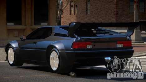 BMW M1 SR для GTA 4
