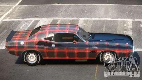 1972 Dodge Challenger RT PJ4 для GTA 4