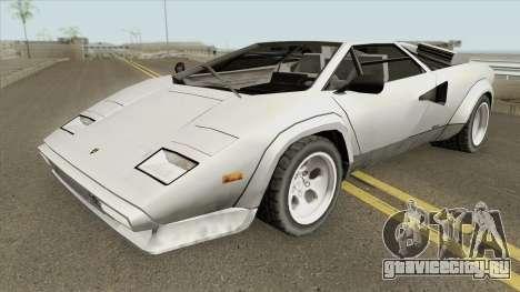 Lamborghini Countach LP400S 1978 для GTA San Andreas