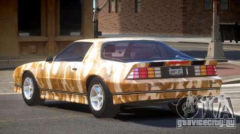 Chevrolet Camaro IR PJ5 для GTA 4