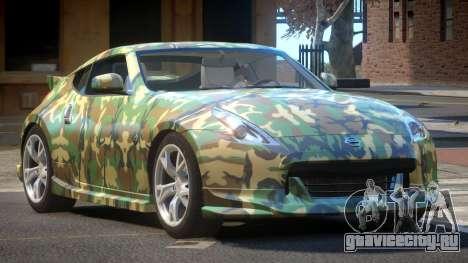 Nissan 370Z SR PJ6 для GTA 4