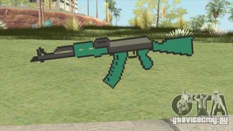 AK47 Pixels (Minecraft) для GTA San Andreas