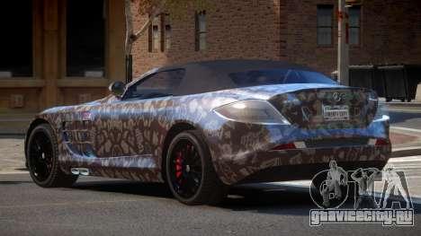 Mercedes-Benz SLR RTF PJ3 для GTA 4