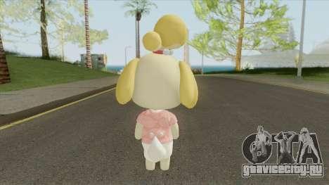 Isabelle (New Horizons) для GTA San Andreas