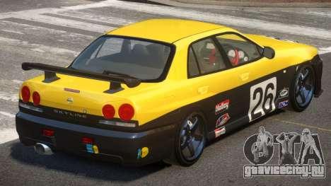 Nissan Skyline R34 D-Style PJ4 для GTA 4