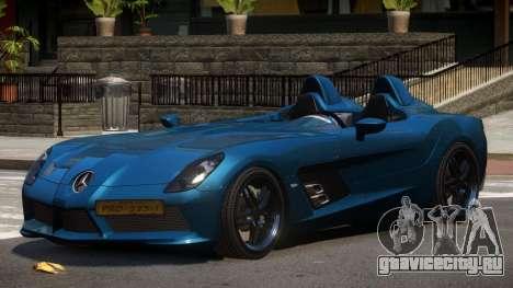 Mercedes Benz SLR Custom для GTA 4