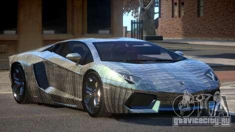 Lamborghini Aventador JRV PJ5 для GTA 4