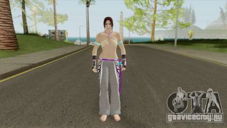 Christie V1 (Tekken) для GTA San Andreas