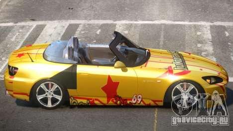 Honda S2000 SR PJ4 для GTA 4