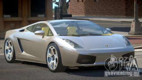 Lamborghini Gallardo TI для GTA 4