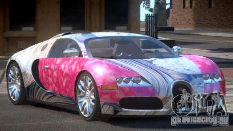 Bugatti Veyron 16.4 RT PJ2 для GTA 4
